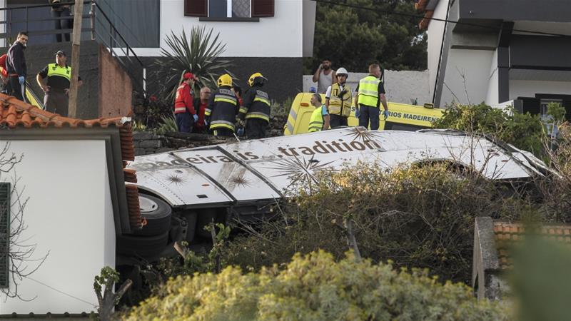 28 killed in Portugal bus crash, many German tourists
