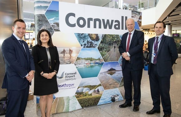 New flights: Heathrow to Cornwall and the world