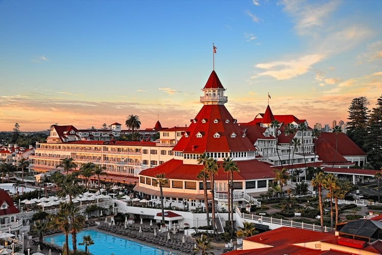 Hotel del Coronado: One of the most popular beach resorts in the US