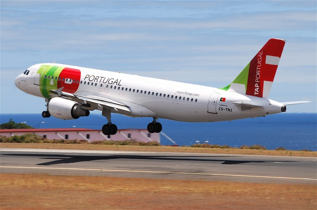 Thank you for flying TAP Air Portugal: Welcome to Tel Aviv