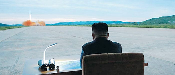 North Korea abandoning tourism? Test fires weapon