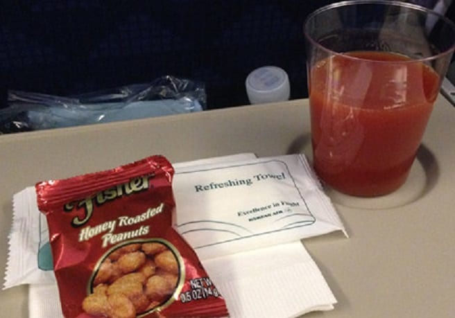 Korean Air: No more peanuts