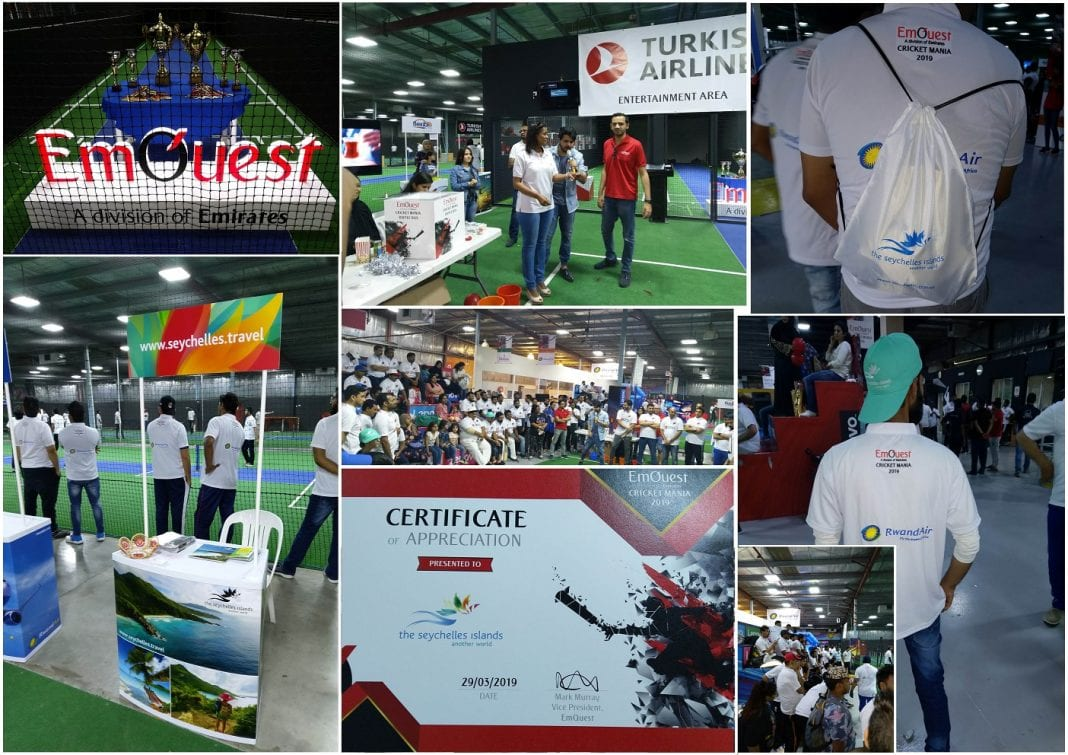 Seychelles Tourism Board participation at EmQuest Cricket Mania 2019 – Dubai UAE