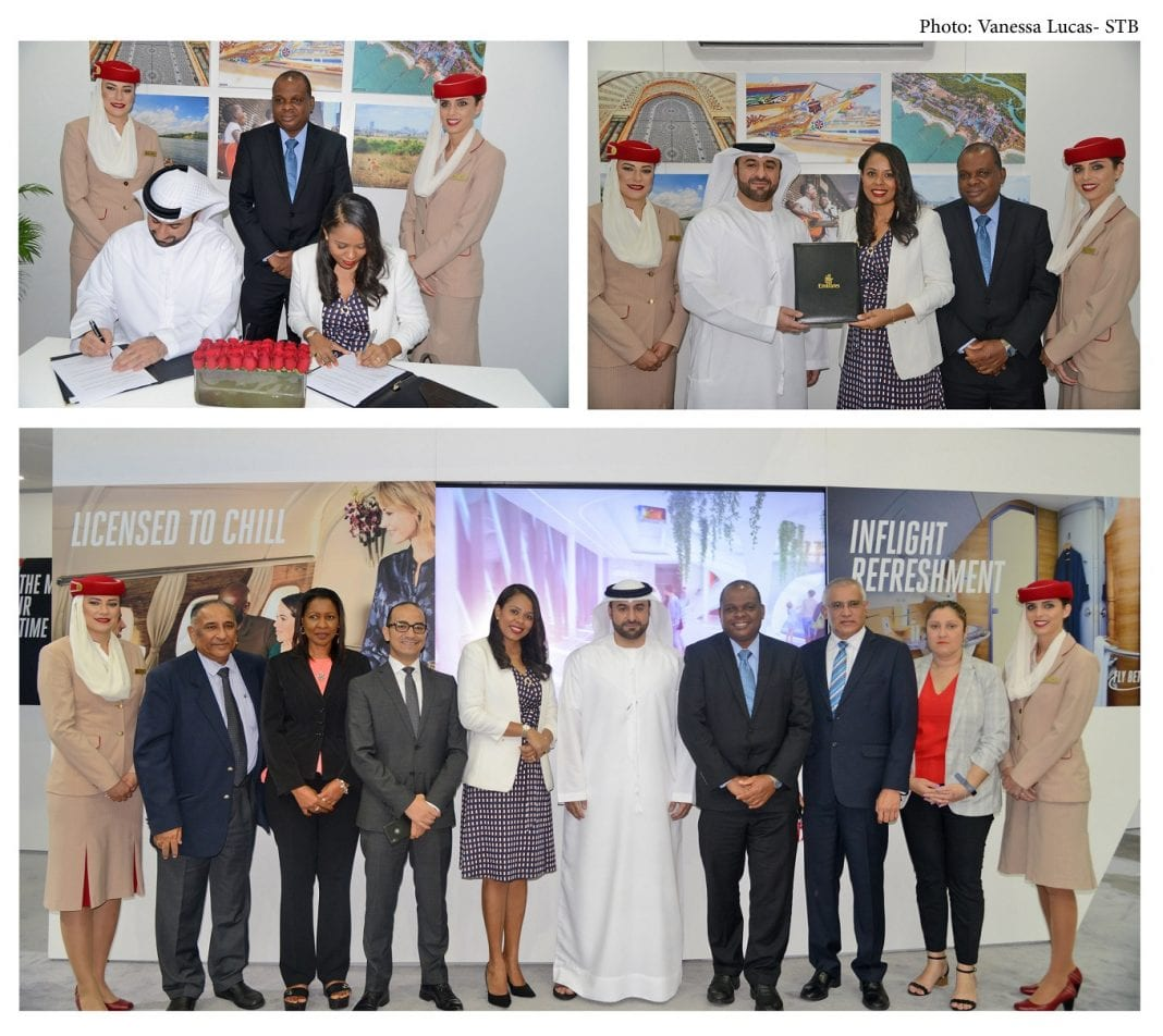 Emirates renews its commitment to Seychelles at the Arabian Trade Fair in Dubai