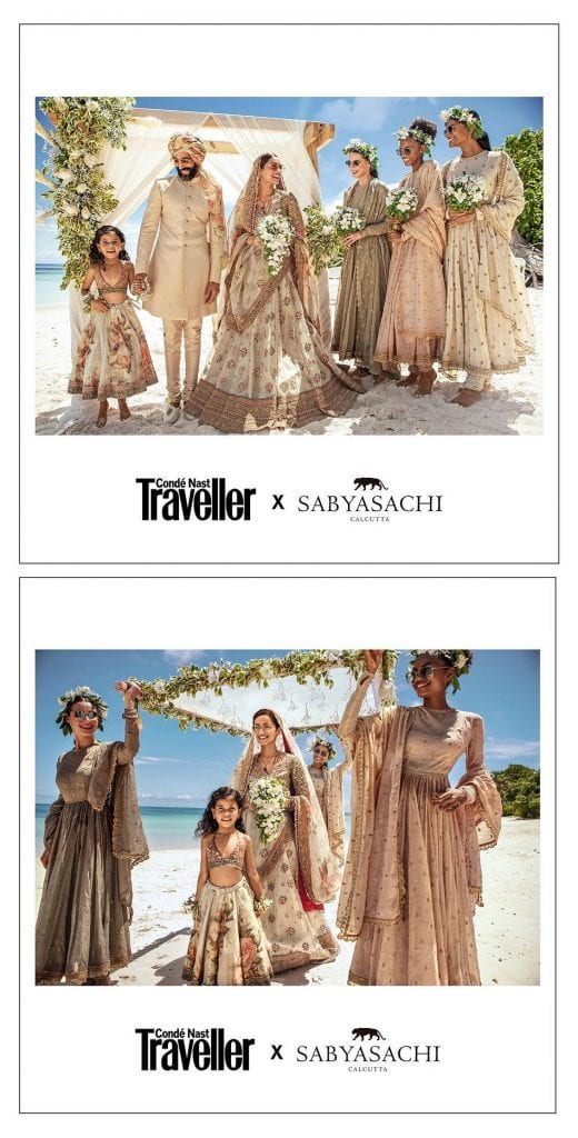 Indian Fashion Guru Sabyasachi selects Seychelles as backdrop for his first ever destination wedding collection