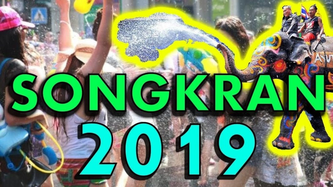 The place to visit today is Thailand: Happy Songkran 2019