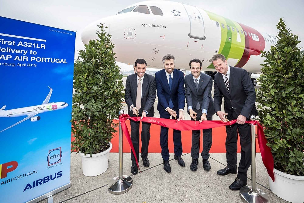 TAP Air Portugal cuts the ribbon for its first A321LR