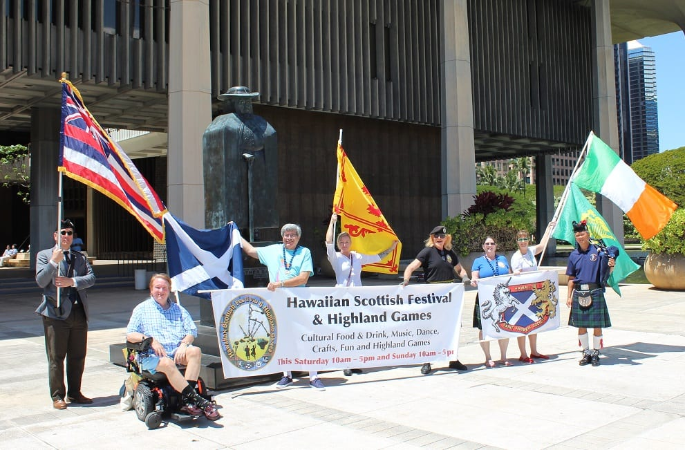 Tartan pride celebrated nationwide and in Hawaii, too