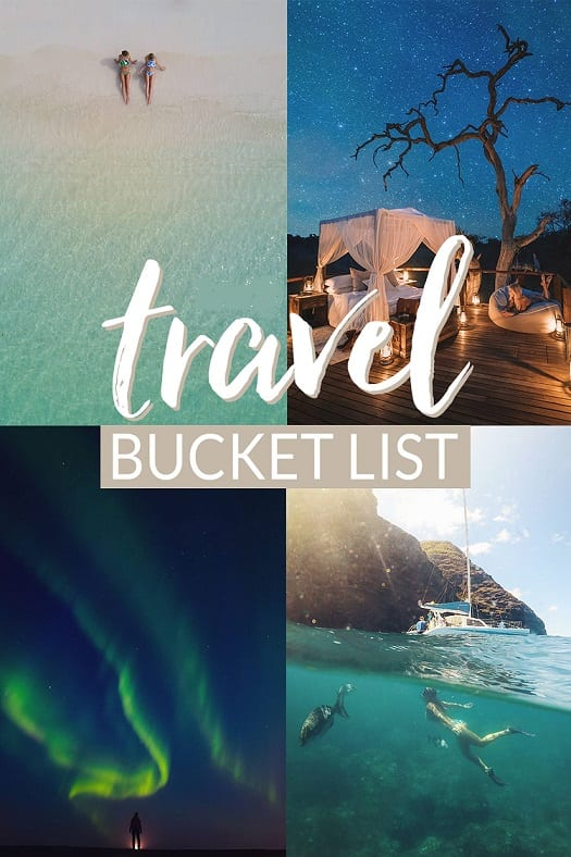 5 places to visit on your bucket list