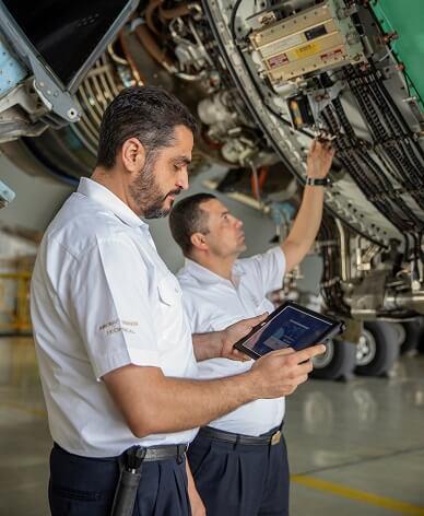 Etihad Airways adopts new Boeing Toolbox Mobile Library