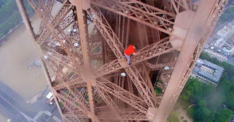Eiffel Tower closed, tourists evacuated after man scales Paris landmark
