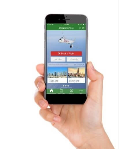 Ethiopian Airlines makes travel easier with upgraded mobile app