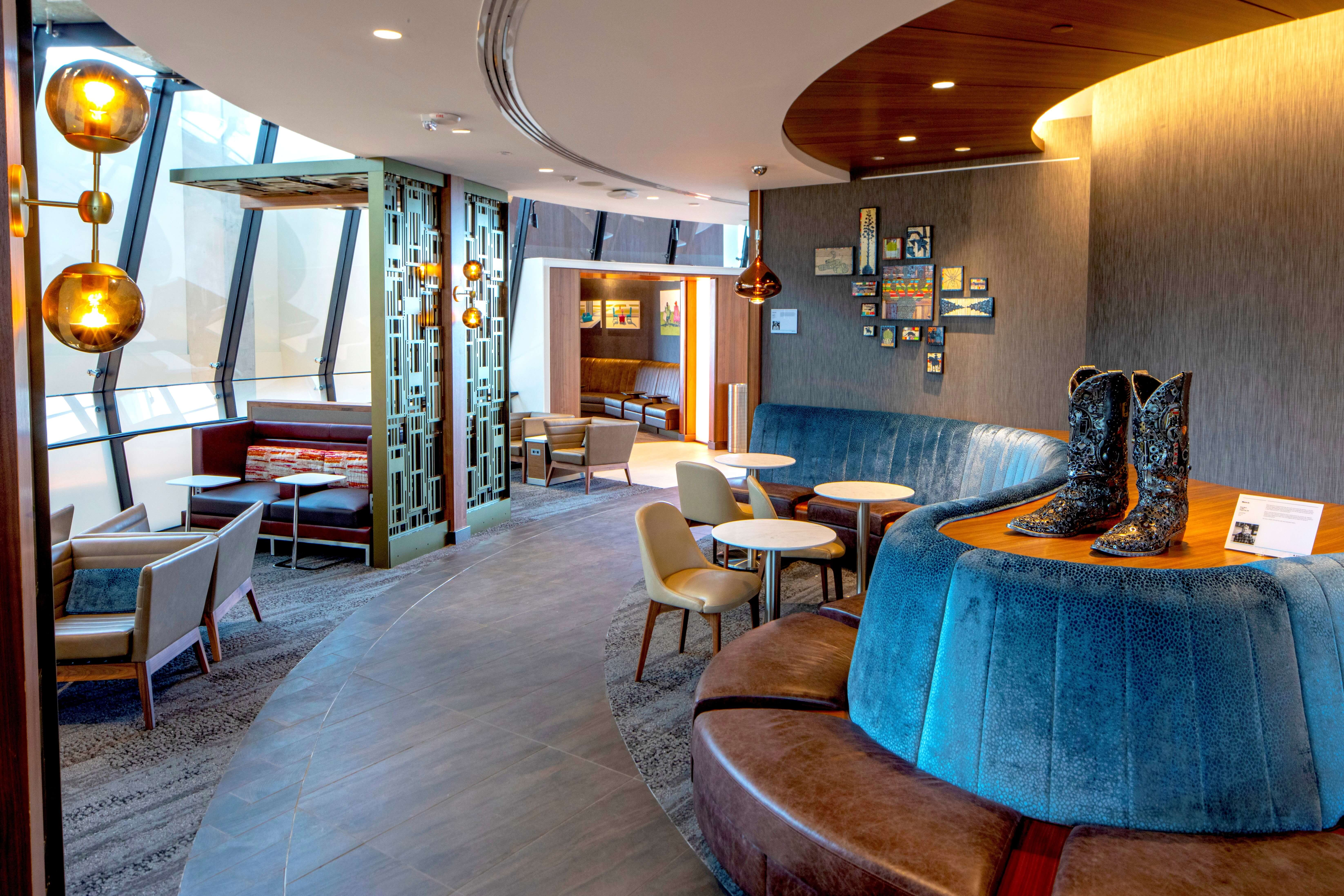 Newest Delta Sky Club evokes eclectic Austin