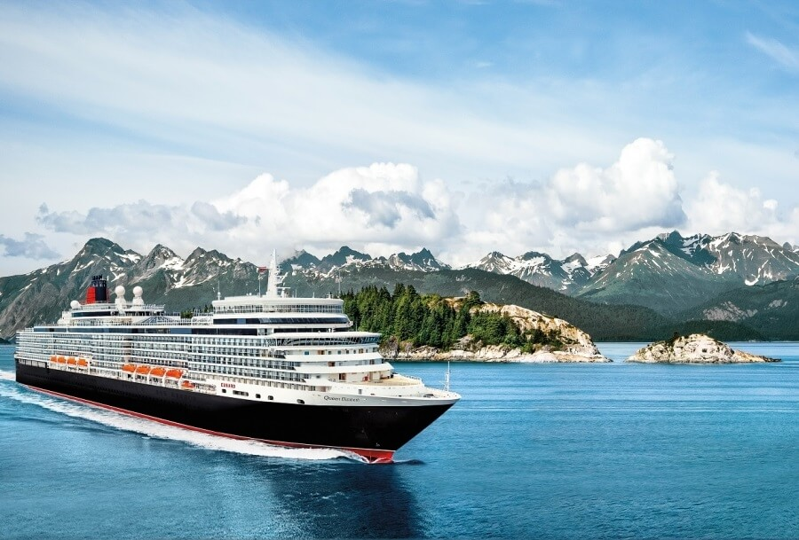 Cunard's Queen Elizabeth kicks off inaugural season in Alaska