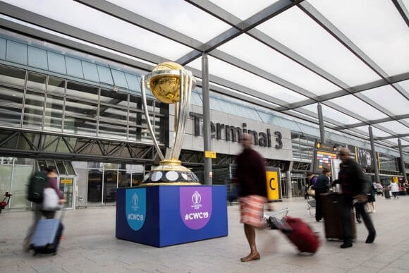 Iconic sports arrive at Heathrow Airport