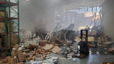 , F-16 fighter jet crashes into warehouse east of Los Angeles, Buzz travel | eTurboNews |Travel News