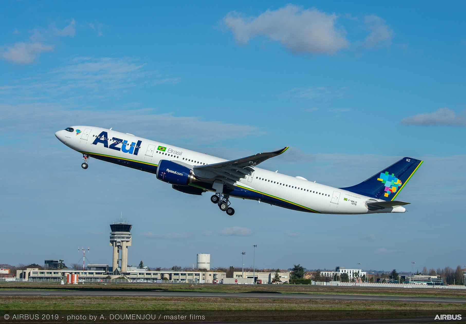 Airbus first in the Americas: Azul A330neo