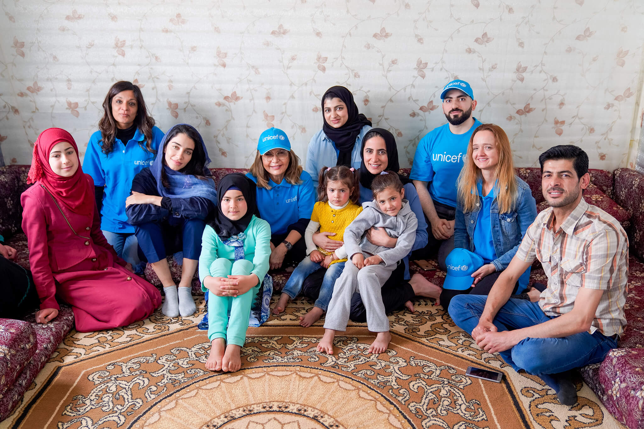 UNICEF Azraq Refugee Camp in Jordan gets help from Central Hotels COO