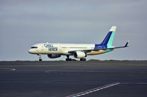 , Praia de Santa Maria: Cabo Verde new livery landed, Buzz travel | eTurboNews |Travel News