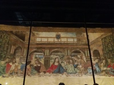 MARIO 2 Last Supper Tapestry at Amboise Photo © Mario Masciullo