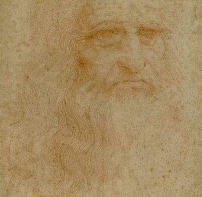 MARIO 5 Self portait of Leonardo