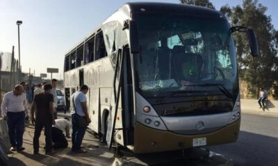 , South African Tourists in Egypt attacked: Bomb exploded on tourist bus in Giza, Buzz travel   eTurboNews  Travel News
