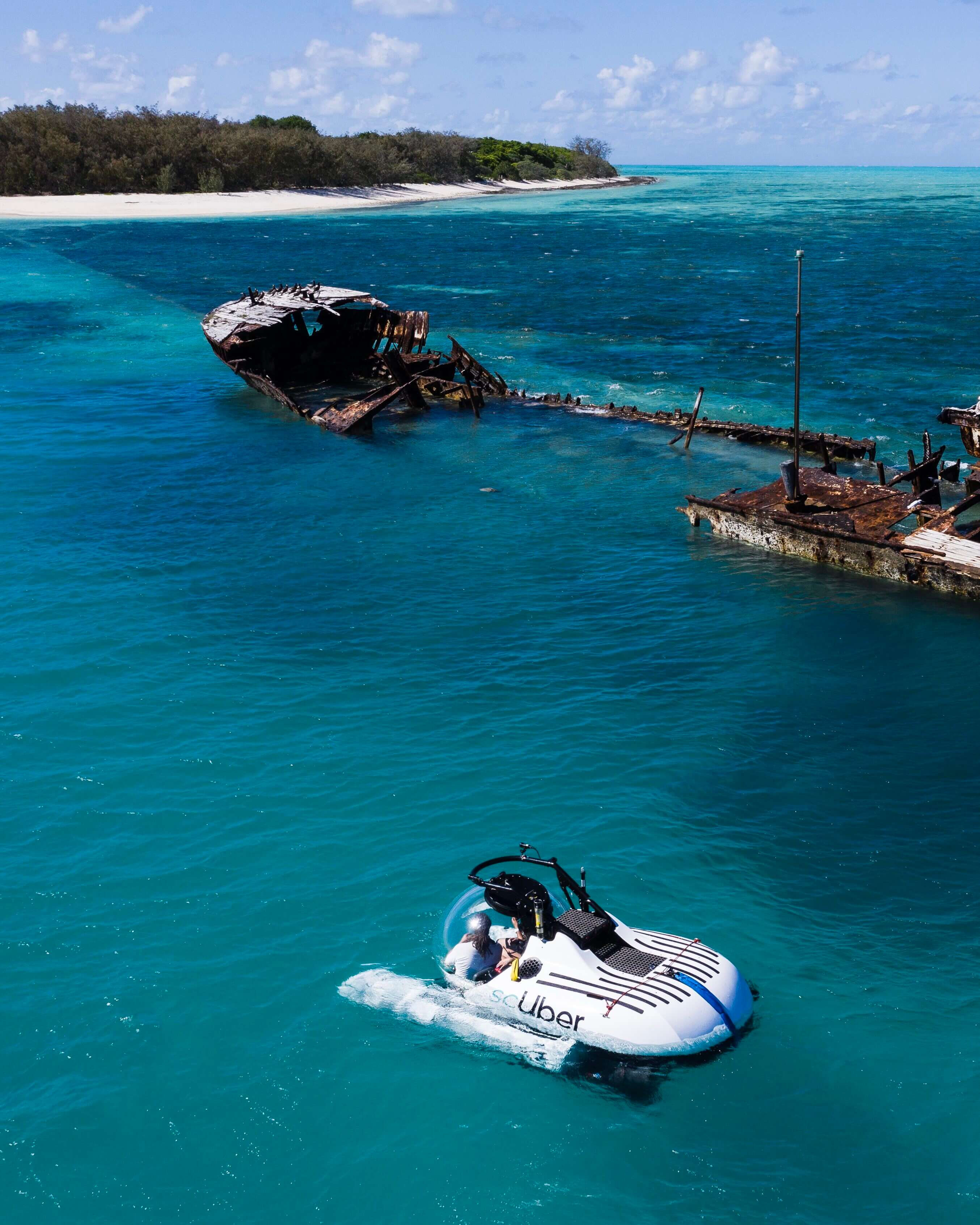 Rideshare an Uber Submarine: Soon available at Great Barrier Reef
