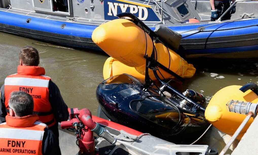 Hudson River takes on another air crash