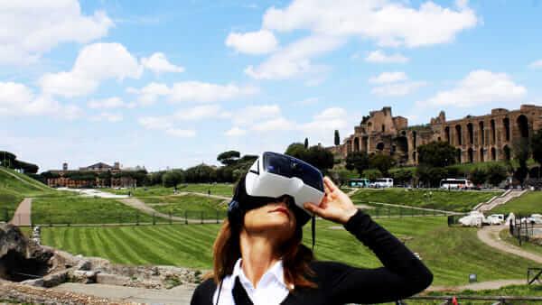 Rome's Circo Maximo takes visitors on a cutting-edge tour