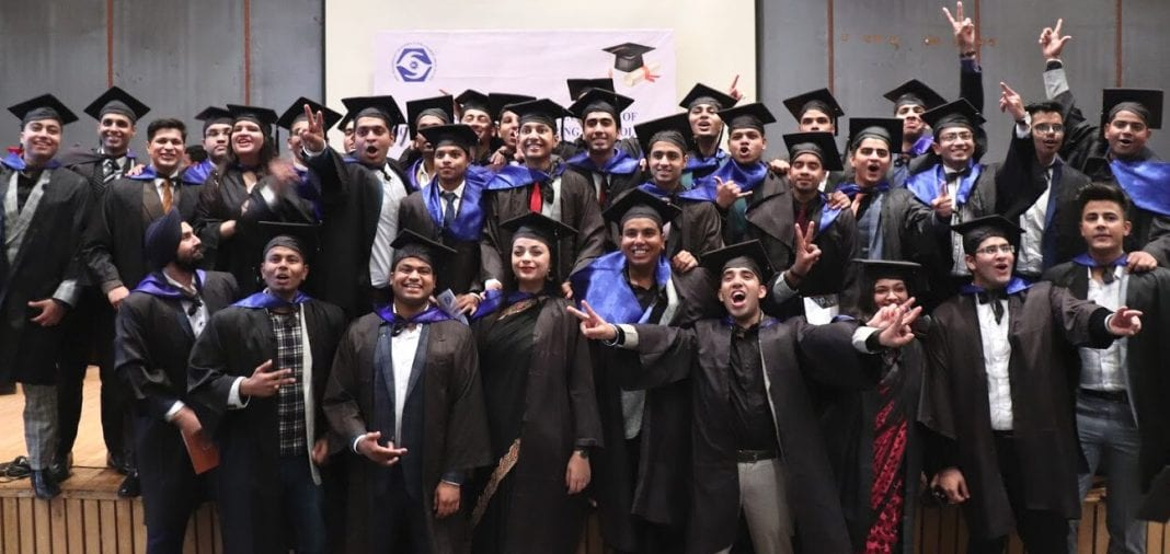 India students graduate in hotel management and catering technology