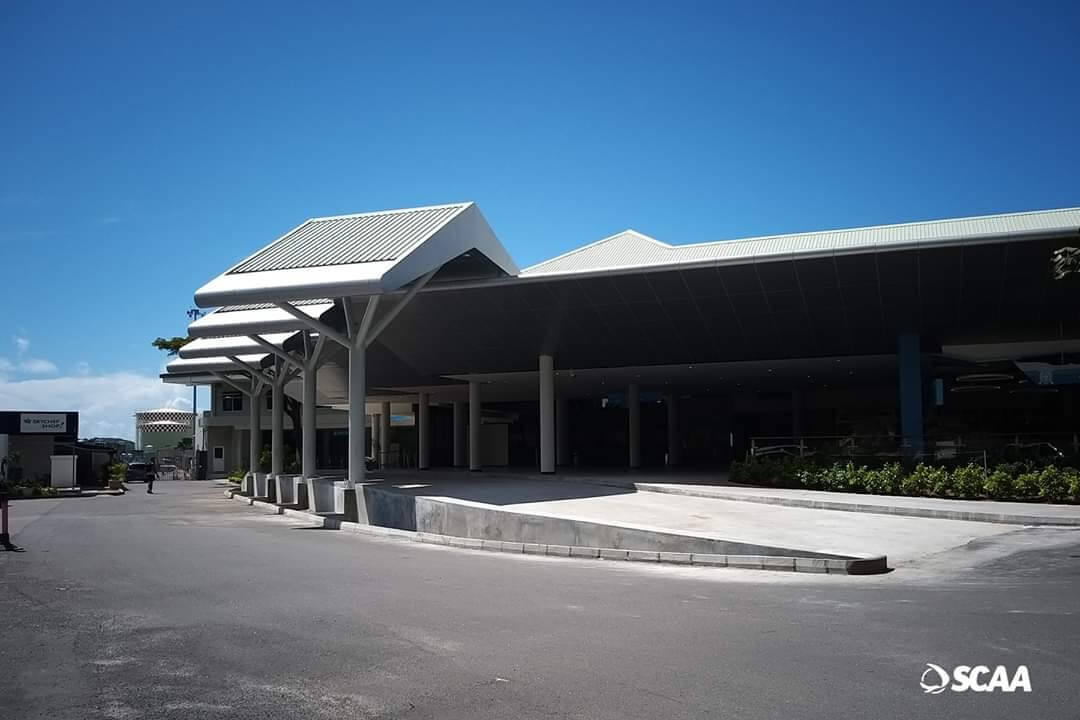 Seychelles Domestic terminal opens newly-completed drop-off