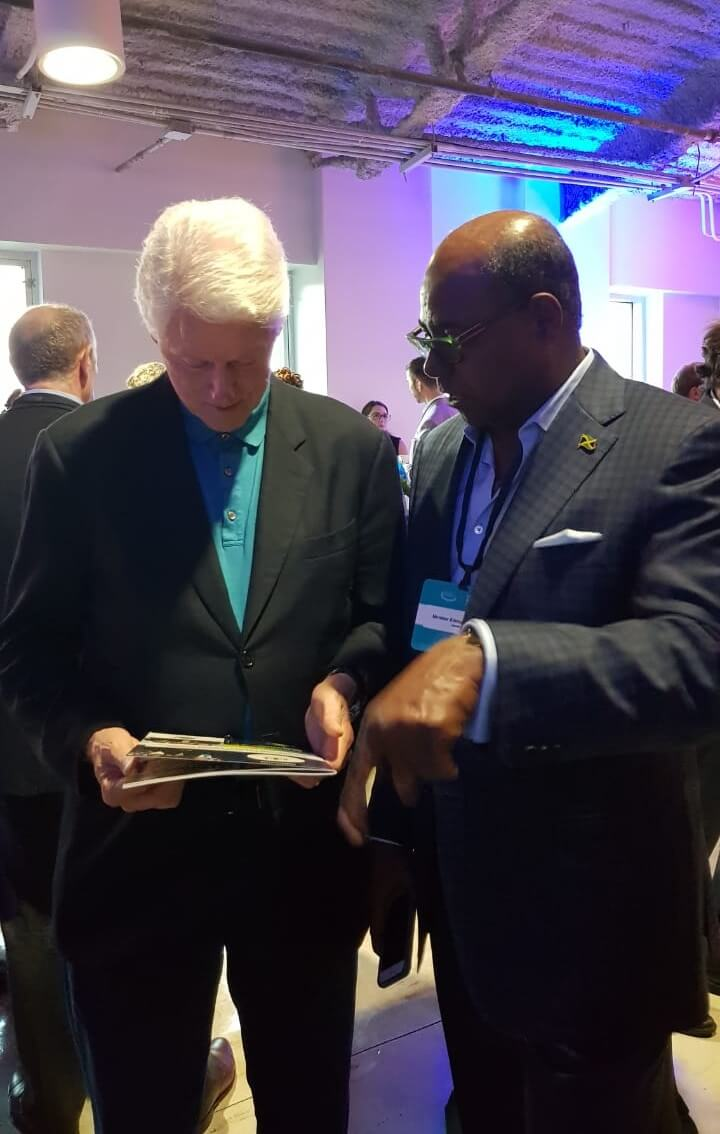 Jamaica Tourism Minister Bartlett new cooperation with President Clinton on Tourism Resilience