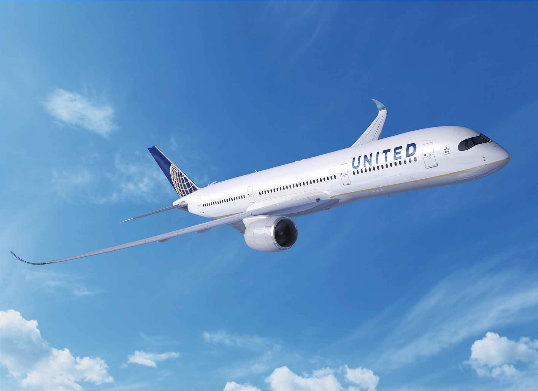 Airbus partners with United Airlines to manage aircraft data