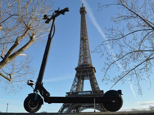 First electric scooter rider killed in Paris traffic