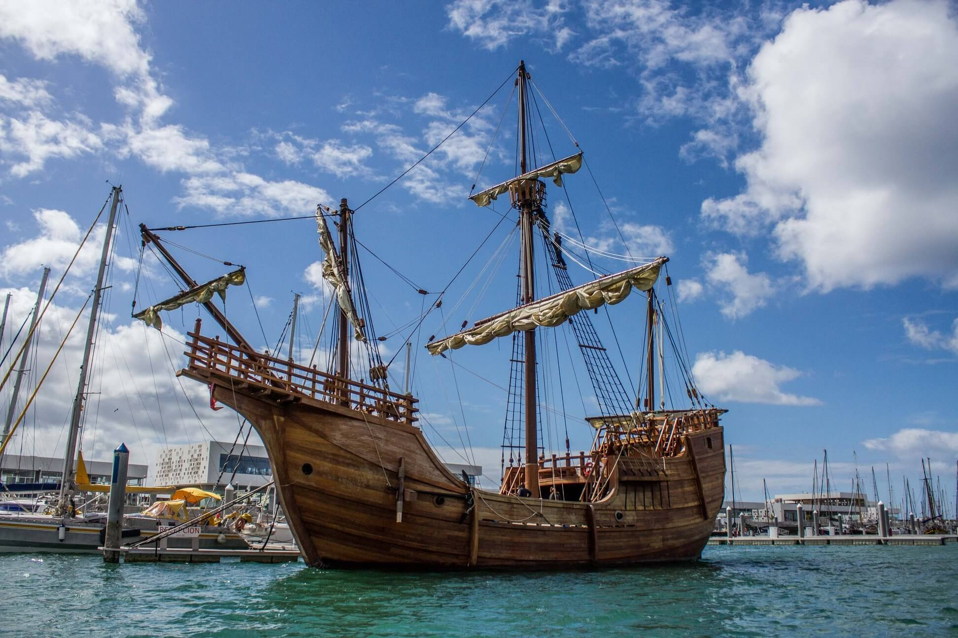 Christopher Columbus' replica ship to sail back to America for Tall Ships Erie 2019