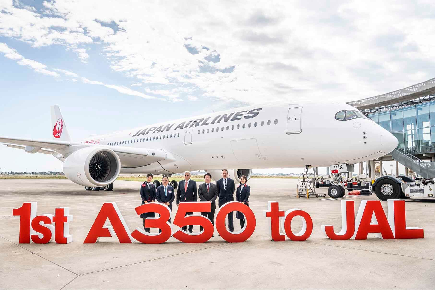 Japan Airlines takes delivery of first Airbus A350 XWB