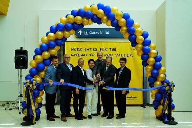 San Jose International Airport celebrates opening of additional boarding gates