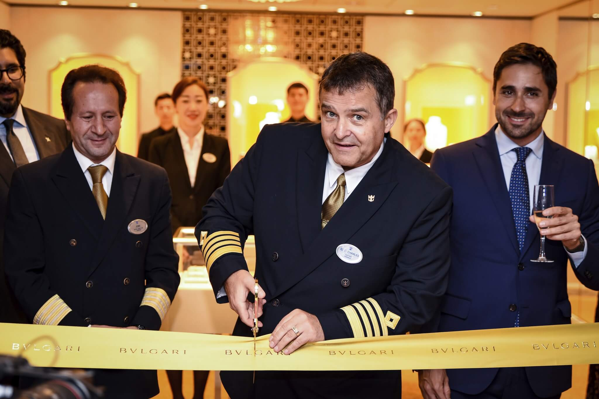 Royal Caribbean debuts largest Bvlgari boutique at sea in Asia