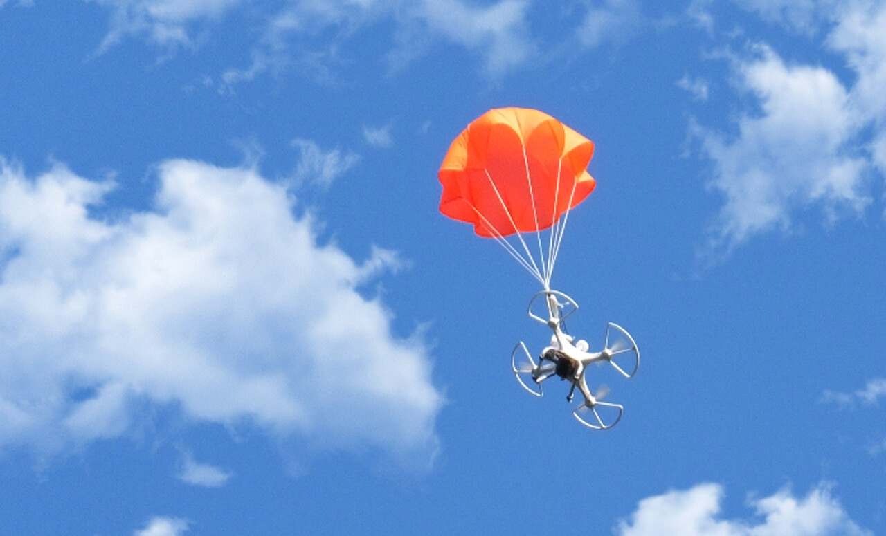 FAA issues waiver for drones with parachutes