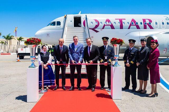 , Qatar Airways lands in Malta for the first time, Buzz travel | eTurboNews |Travel News