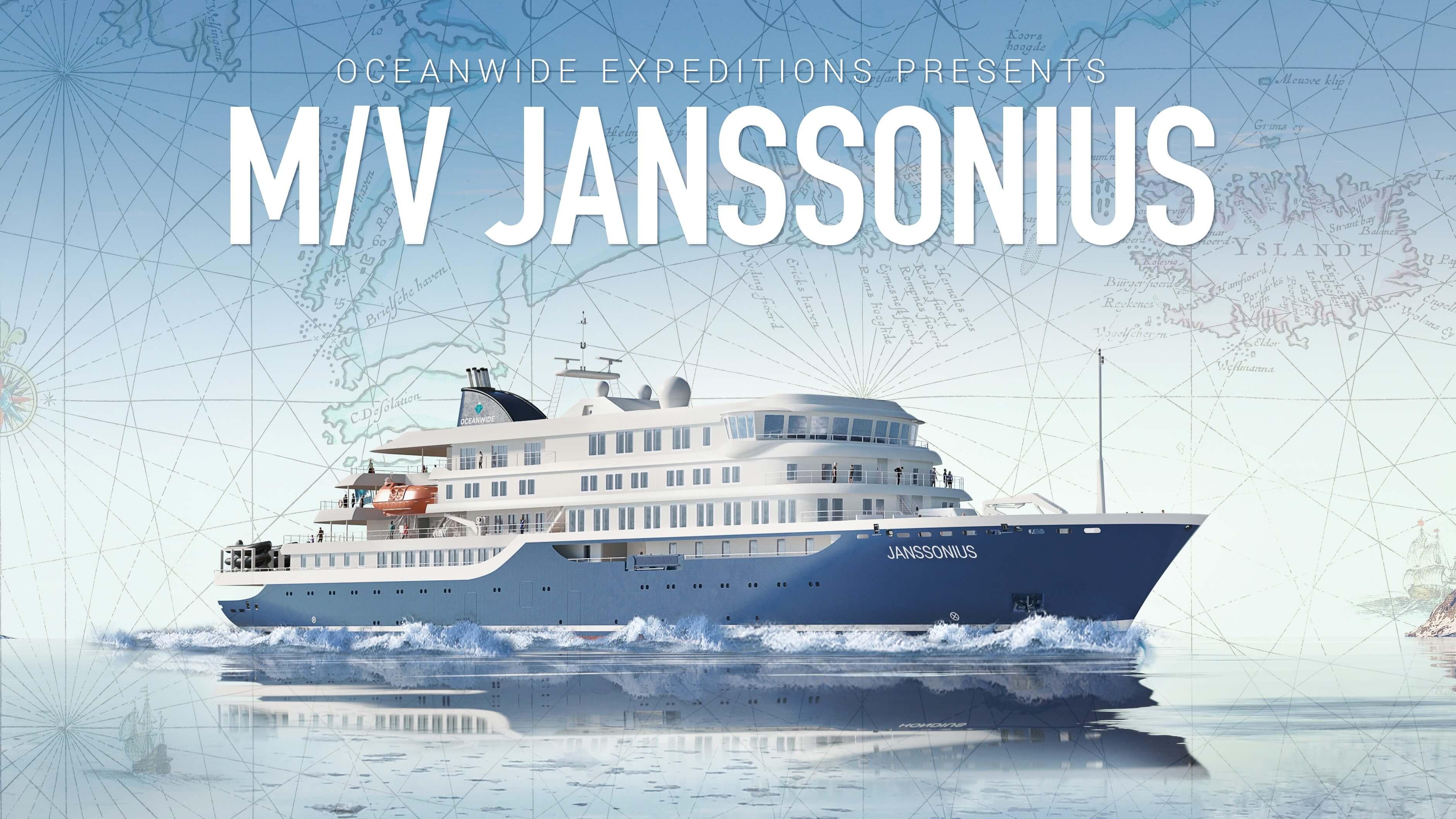 Αποτέλεσμα εικόνας για Oceanwide Expeditions: Hondius sister ship m/v Janssonius ordered for 2021