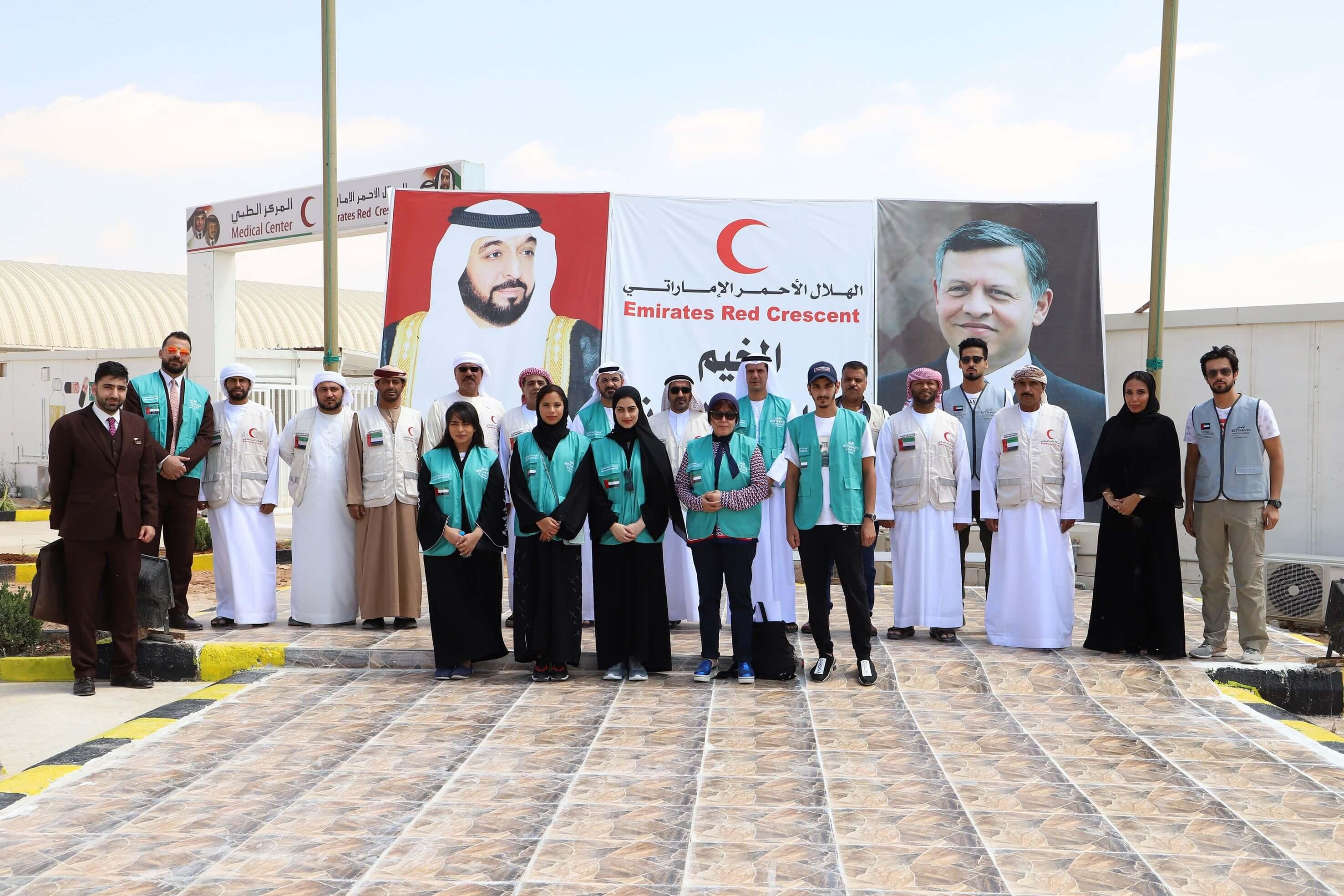 Etihad Airways marks UN World Refugee Day by helping Syrian refugees in Jordan