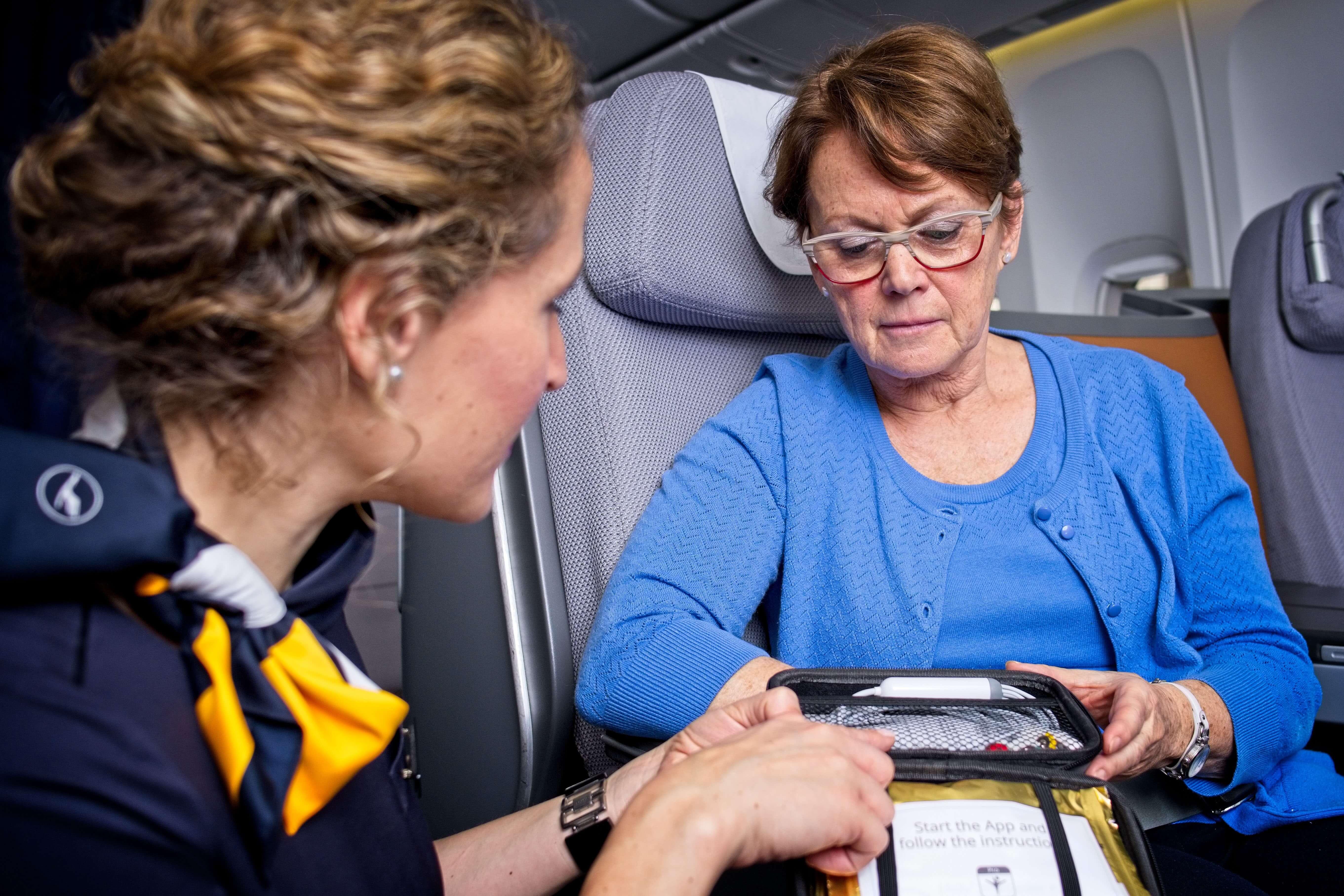 Lufthansa uses telemedicine on board its long-haul fleet