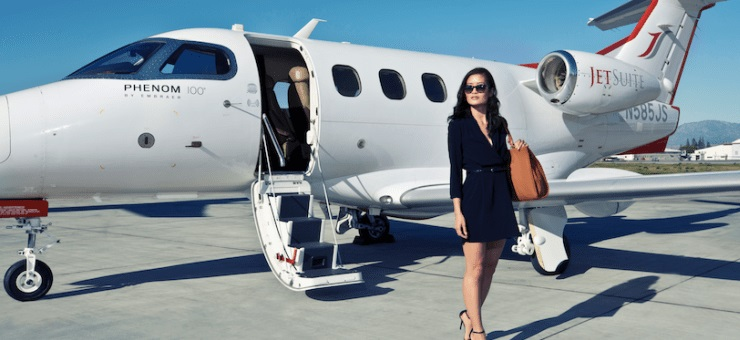 JetSuiteX launches new flights from Phoenix to Burbank, Las Vegas, and Oakland