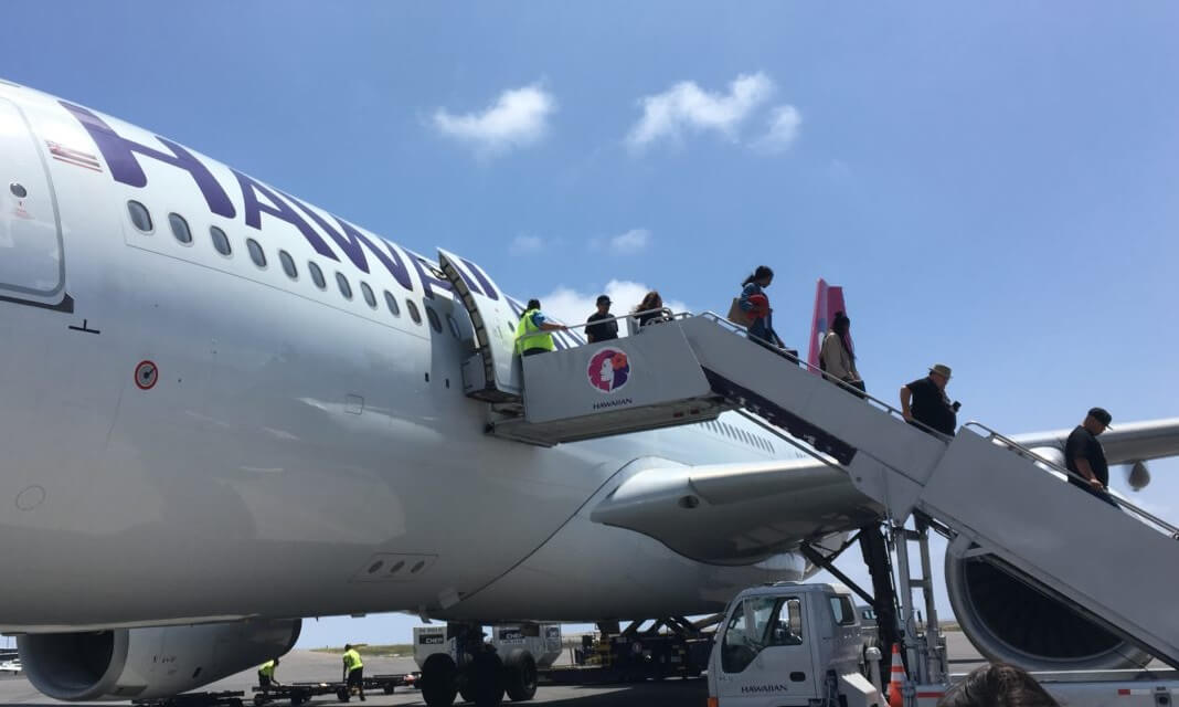 Hawaiian Airlines: Over one million passengers in May