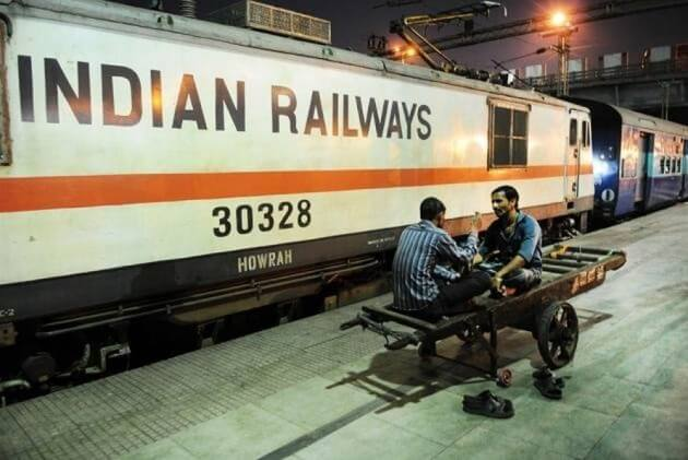 Want a head or foot massage? Take an Indian train