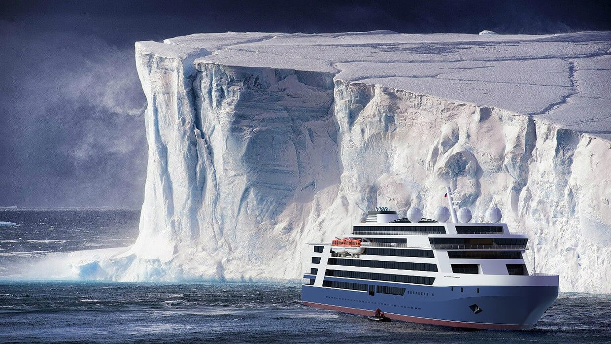 Russia unveils designs for Arctic cruise ships