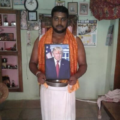 , Indian Trump worshipper sets up Trump shrine, buys 'expensive' POTUS statue, Buzz travel | eTurboNews |Travel News