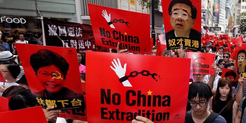 Hong Kong government forced to shelf China extradition bill amid huge street protests