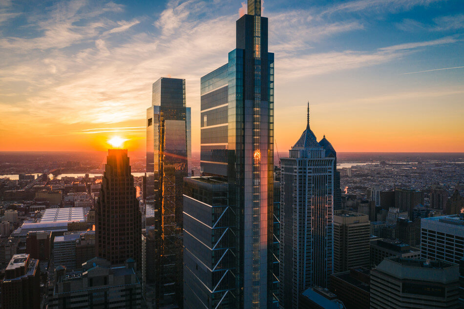 Four Seasons Hotel Philadelphia open doors at city's tallest building